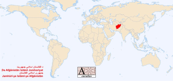 world atlas the sovereign states of the world afghanistan, block diagram, location of afghanistan on world map