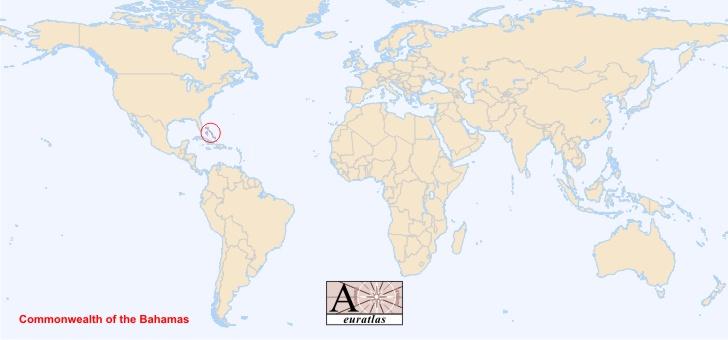 World Atlas the Sovereign States of the World Bahamas Bahamas