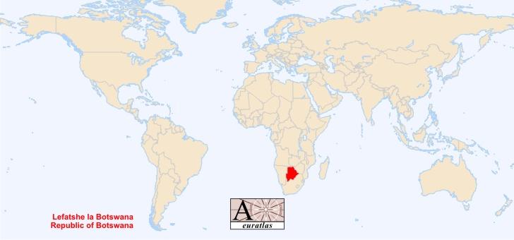 botswana-carte-du-monde