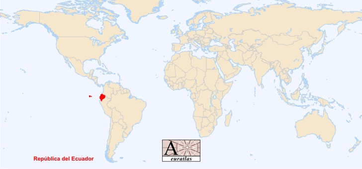 World Atlas the Sovereign States of the World Ecuador Ecuador