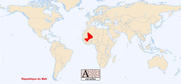 World Atlas the Sovereign States of the World Mali Mali