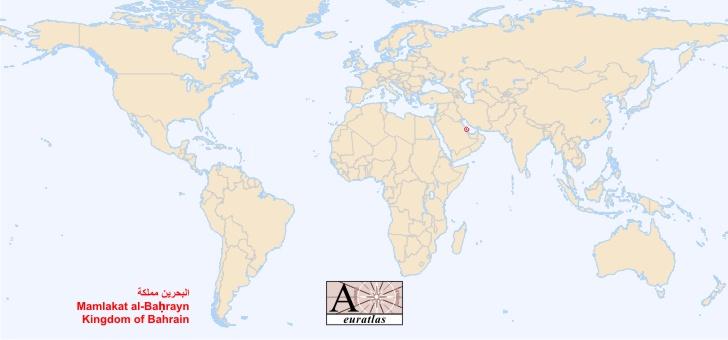 World Atlas: the Sovereign States of the World - Bahrain ...