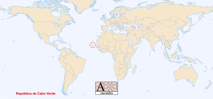 Where Is Cape Verde Located On The World Map.World Atlas The Sovereign States Of The World Cape Verde Cabo Verde