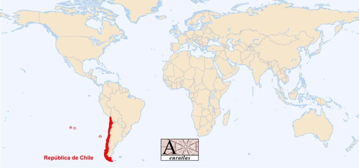 World Atlas: the Sovereign States of the World - Chile, Chile on