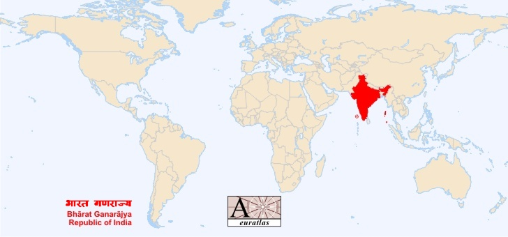World atlas the sovereign states of the world india ganarajya india india flag of india gumiabroncs Image collections