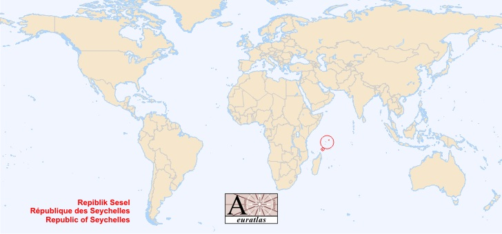 World Atlas The Sovereign States Of The World Seychelles - Map of seychelles world